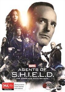 Marvel's Agents Of S.H.I.E.L.D Shield : Season 5 : NEW DVD