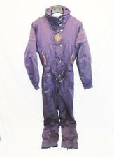 Vintage Spyder 12 M Purple Ski Snow Suit One Piece Embroidered Red Gold Coat md
