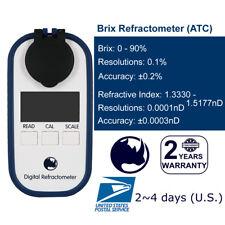 RHINO 0-90% Digital Brix (Maple syrup,Jam,Sauces,Juice) Refractometer(ATC IP65)