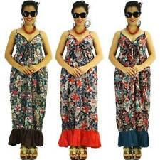 Regular 100% Cotton Maxi Dresses for Women