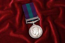"BRITISH GEORGE VI 1918-1962 GENERAL SERVICE MEDAL w/BAR ""PALESTINE 1945-48"" TO J"