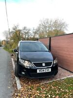 2014 SEAT Alhambra 2.0 TDI JUST HAD NEW ENGINE AND TURBO