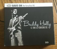 Buddy Holly & The Crickets - Rave On, The Very Best of 3CD Decca