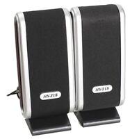 2 PièCes SéRies USB Haut-Parleurs D'Ordinateur Portable Haut-Parleur StéRéO a1w