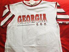 _L_ Vintage 90s University Of Georgia Bulldogs -1992 Mad Cap Sports Jersey NCAA