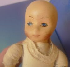 "Old Collectibles Vintage Toy Porcelain Doll Pups Baby Doll 8"" inch"