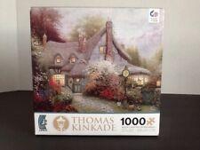 Thomas Kinkade Sweetheart Cottage Ceaco Puzzle Jigsaw 1000 Pcs. 2012 New