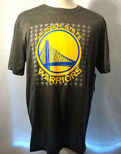 GOLDEN STATE WARRIOR CURRY NBA MEN'S**NEW SIZE LARGE**GREY/YELLOW TEE SHIRT