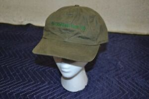 VTG Filson Insulated Lined Cloth Cap Waxed Cotton Olive XL Huntsmen Hunt Club