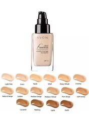 **AVON*IDEAL FLAWLESS LIQUID FOUNDATION WITH SUNSCREEN*30G** Light pink**NEW**