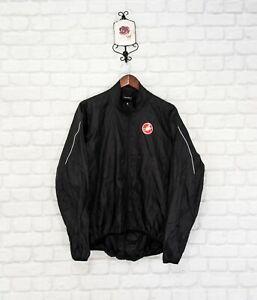 Castelli Men's Cycling Full Zip Jacket Size XL