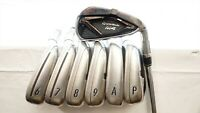 Taylormade M4 Iron Set Stiff Flex Kbs Max Steel 5-Aw, Pw 0785701 Right Handed