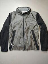 Lululemon Specular Reflective Jacket Coat Jogging Zip Up Hooded size large