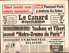 CANARD ENCHAINÉ Birthday Newspaper JOURNAL NAISSANCE 8 AVRIL APRIL 1998