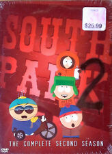 SOUTH PARK - COMPLETE SECOND SEASON - (3) DVD SET - STILL SEALED