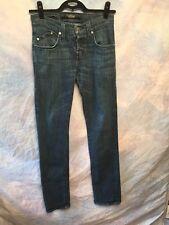 Rock Republic Colburg Dark Wash Button Fly Jeans Straight Leg 31