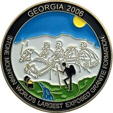 Georgia Geocoin, 2005 Antique Gold finish, Activated