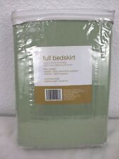 NEW Room Essentials Full Bedskirt One Bedskirt 54in x 75in x 14in Drop