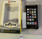 ✅ Griffin Survivor iPod touch 5th/6th generation Case - Clear/black