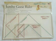 Quilt in a Day, Jumbo Geese Ruler, Two Geese Ruler Set, by Eleanor Burns