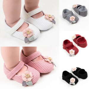 Toddler Shoes Flower First Walkers Bowknot Baby Shoes Girl Cute Princess Shoes