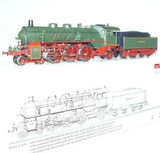 Marklin AC HO 1:87 German Bavarian K.BaySts.B. S 3/6 Green STEAM LOCOMOTIVE MIB!