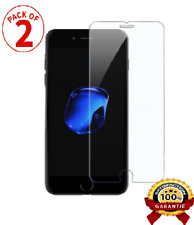 [LOT DE 2] iPhone 8/7/6/X/S/PLUS/5 Vitre protection VERRE trempé Film protecteur