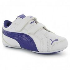Baskets chaussures fille pointure 20 PUMA Janine Dance blanc/violet, neuves