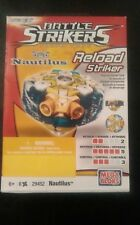 Mega Bloks Magnext Battle Strikers Turbo Tops reload striker: NAUTILUS #29452