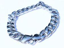 Bracelet Chain Stainless Steel 316L Mens Cuban Curb Link 12mm  * US Seller *