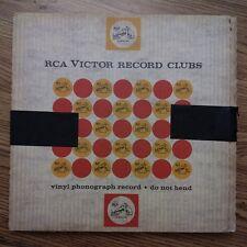 """Tchaikovsky-1812 Overture"" Sound Spectular mono LP MINT in RCA shipping box"