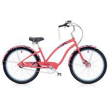 """Electra Morning Star 3i Damen Fahrrad 26"""" Pink klassisch Beach Cruiser Rad Retro"""