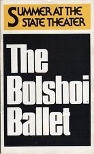 Bolshoi Ballet Playbill 1979 Lincoln Center