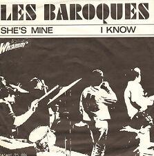 "LES BAROQUES - I Know/ She's Mine (1966 VINYL SINGLE 7"" DUTCH BEAT)"