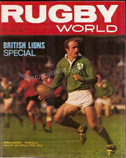 Rugby World Magazine'S Coverage Of The 1977 Lions Tour Set Of 5
