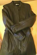 PINKO cappotto lungo donna in Pelle marrone tg. S