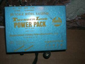 N Scale model Railroad hobby transformer thunder line power pack ahm