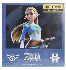 "The Legend Of Zelda 550 Piece Puzzle 18""x24"" Hot Topic Exclusive NISB!"