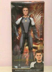 Barbie Ken Hunger Games Catching Fire PEETA Doll-Josh Hutcher Peeta  sculpt