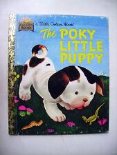 THE SPOKY LITTLE PUPPY - 1970 -  Little Golden Book
