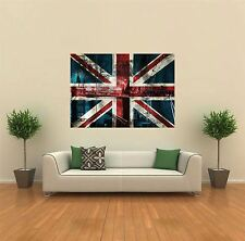 BANDIERA UNION JACK BRITISH NUOVO GIGANTE POSTER WALL ART PRINT PICTURE G404