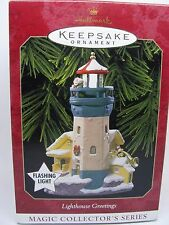 1999, LIGHTHOUSE GREETINGS, 3RD, HALLMARK KEEPSAKE ORNAMENT