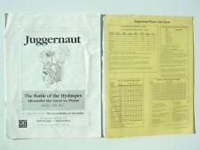 Juggernaut: grandes batallas de Alejandro módulo por Juegos GMT