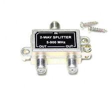 2-Way Splitter 5-900 MHz