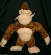 "13"" NINTENDO 2004 BROWN DIDDY KONG MONKEY STUFFED ANIMAL PLUSH TOY MARIO BROS"