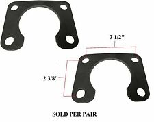 """66-77 Ford Bronco 9""""AXLE RETAINER PLATE Large Bearing PAIR"""
