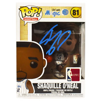 Shaquille O'Neal Signed Orlando Magic NBA Funko POP Vinyl Figure (JSA)