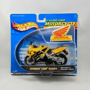 Honda CBR 600F4 Motorcycle Hot Wheels 2000 Release 1:18 Diecast