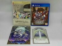 Little Witch Academia First Press Limited Edition PS 4 F/S Japan Used