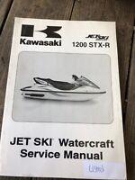 2004 Kawasaki Jet Ski 1200 STX-R JT1200 Watercraft Service Manual